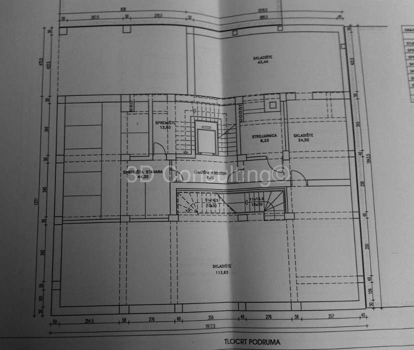 Floor plan Basement Vlaška