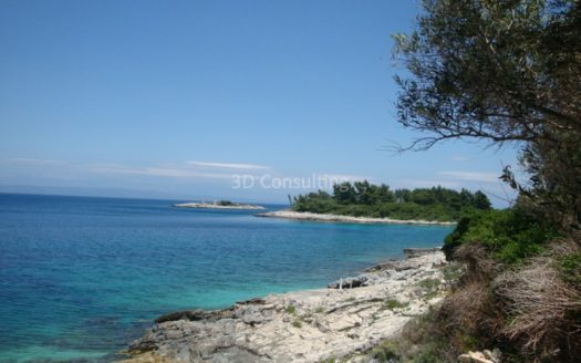 gradevinsko zemljiste obala more korcula land plot for sale 3d consulting (3)